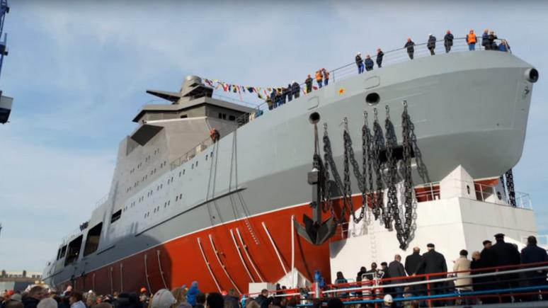 Times: интересы России в Арктике будет защищать первый боевой ледокол