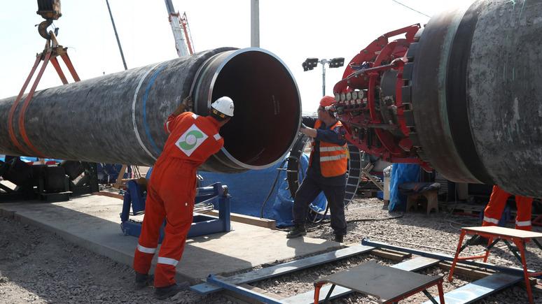 24 канал: запуск «Северного потока — 2» оборвёт транзит газа через Украину