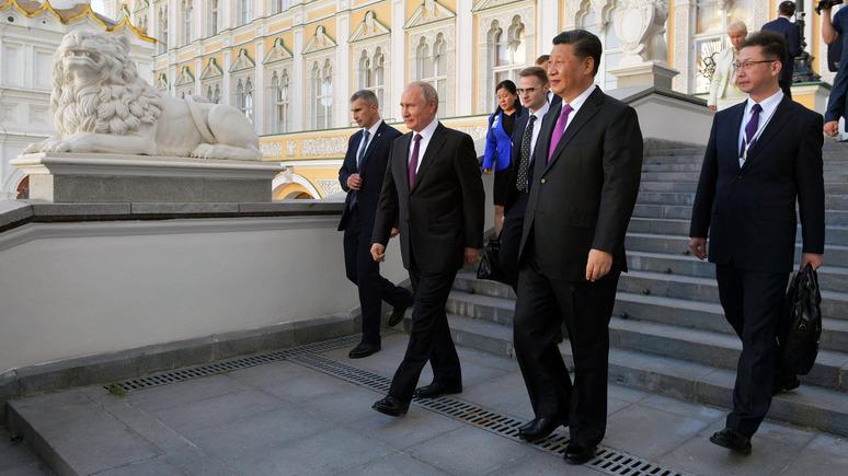 Nihon Keizai: Россия встала на сторону Китая, чтобы диктовать мировой порядок
