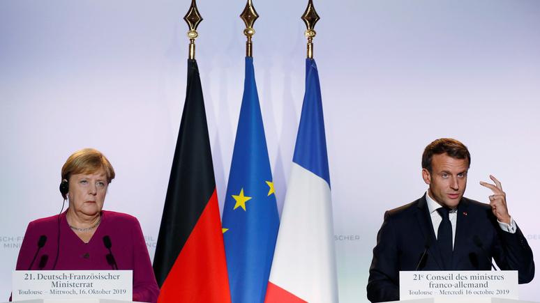 Le Monde: «золотые» и «резкие слова» Макрона не оставили равнодушными Москву и Берлин
