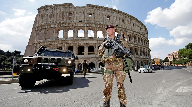 Times: в Рим для борьбы с преступностью хотят ввести войска