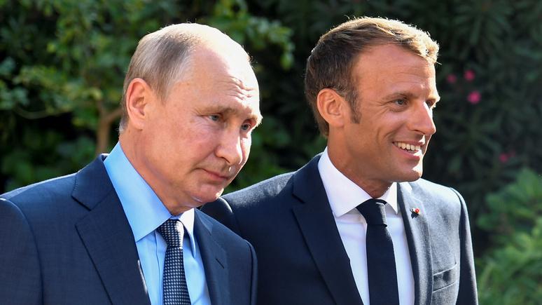 Макрон: чтобы не превратиться в «вассала Китая», Россия должна стать партнёром Европы