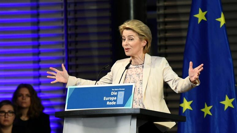 Daily Express: будущая глава Еврокомиссии призвала Европу освоить «язык силы»