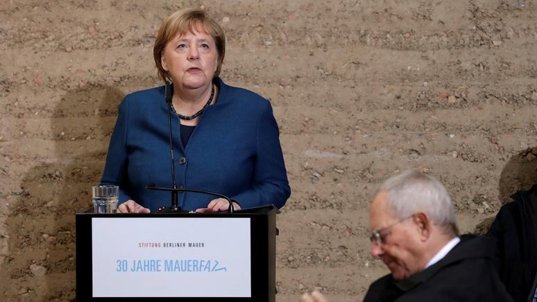 Меркель: Восточная Германия сравняется с Западной не раньше, чем через полвека