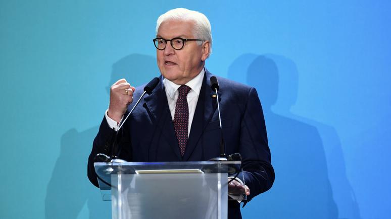 France Info: на праздновании годовщины падения Берлинской стены Штайнмайер потребовал от США уважения