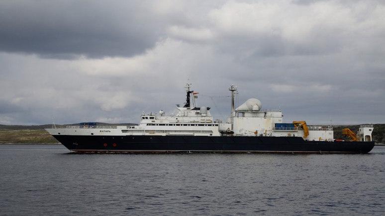 Forbes: переполошивший Запад российский корабль «Янтарь» замечен у берегов Америки