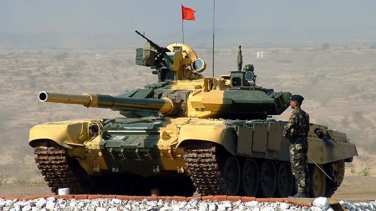 Times of India: Индия самостоятельно соберёт заказанные у России танки Т-90