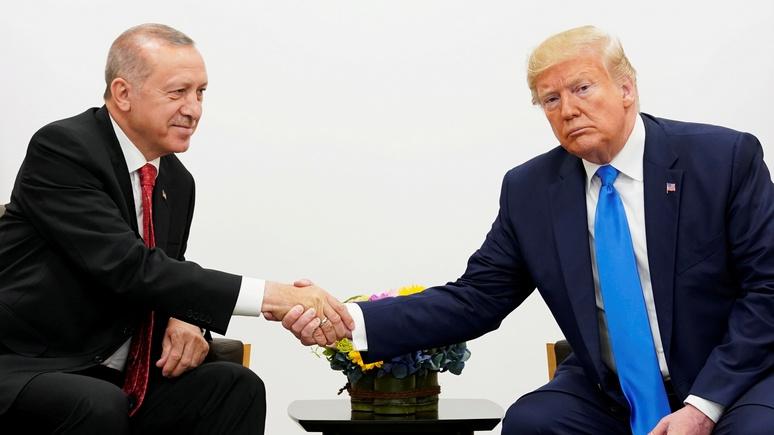 Курды и сближение с Россией: Washington Times раскрыла темы предстоящей встречи Трампа с Эрдоганом