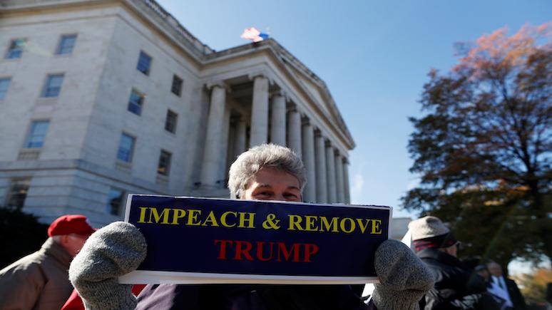 CNBC: в конгрессе США начались открытые слушания по импичменту Трампа