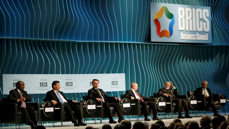 FAZ: страны БРИКС высказались против политики Трампа