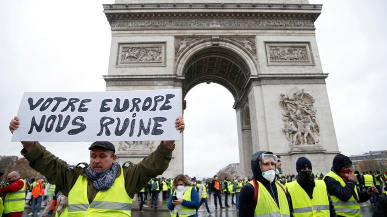 Le Monde: «болезнь нестабильности» в Европе делает её похожей на послевоенную Францию