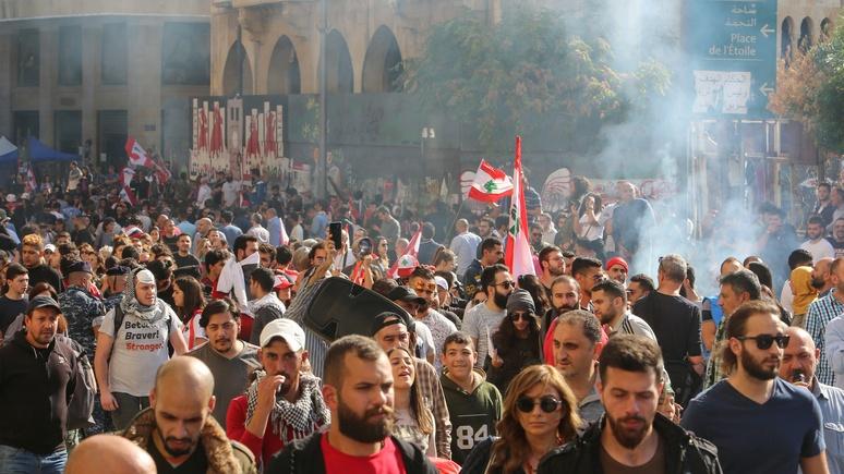 OLJ: не заговор США, а жажда реформ — Госдеп раскритиковал взгляд России на протесты в Ливане
