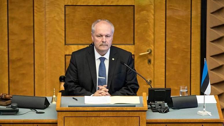 ERR: очередное заявление спикера парламента Эстонии о «российской аннексии» взбудоражило СМИ