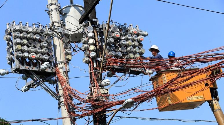 SCMP: «возьмут и повернут рубильник» — филиппинцы обеспокоены, что Китай отключит им свет