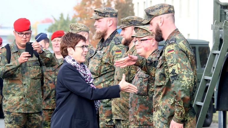 Министр обороны Германии: за рубежом бундесвер способен на большее