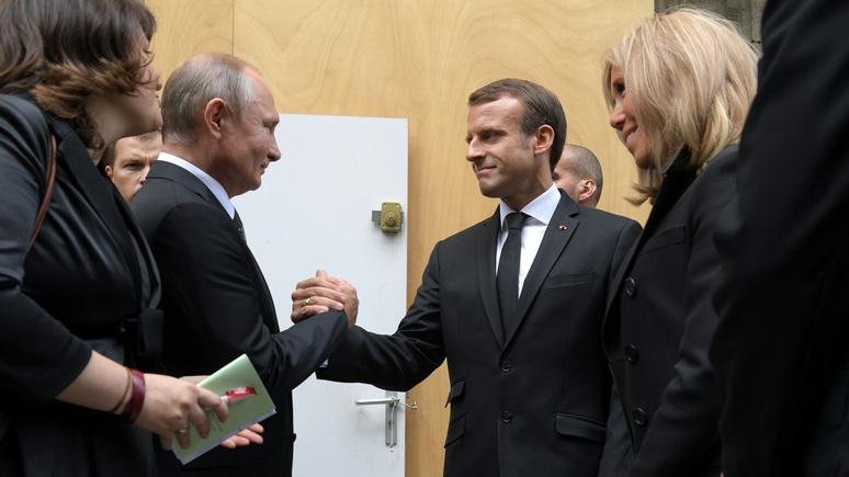 FAZ: вновь ошарашил НАТО — Макрон заинтересовался «сомнительным предложением» Путина