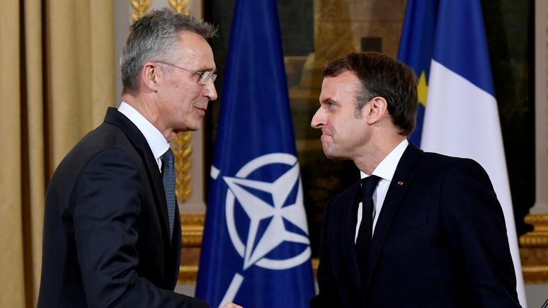 Süddeutsche Zeitung: в пику Макрону — Столтенберг настаивает, что НАТО «дееспособно»