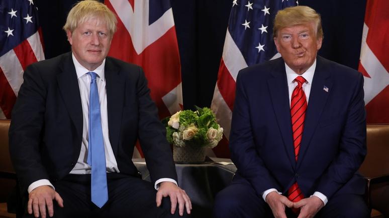 Times: Джонсон постарается не появляться рядом с Трампом во время саммита НАТО