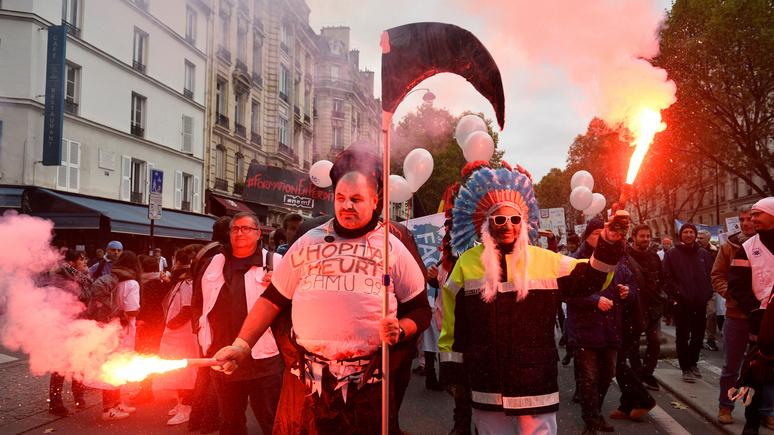 Times: Францию ожидает «зима недовольства» из-за всеобщих забастовок