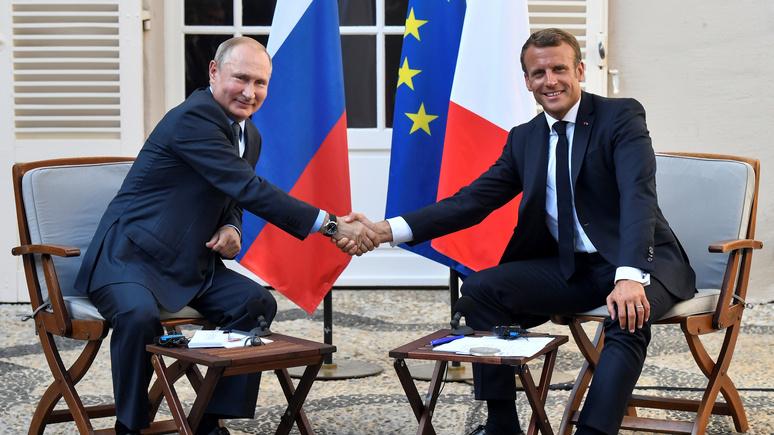 Обозреватель Figaro: презрение к России — главная стратегическая ошибка Европы, и Макрон это понимает