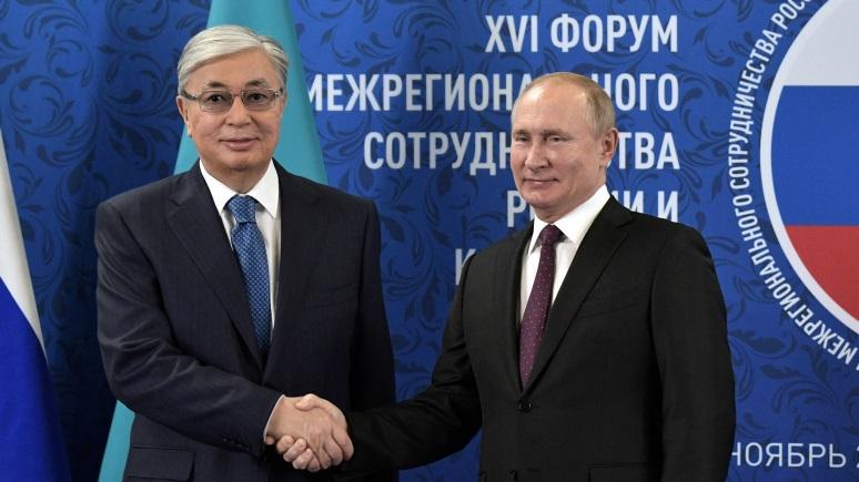 DW: президент Казахстана не считает присоединение Крыма «аннексией» и не боится России