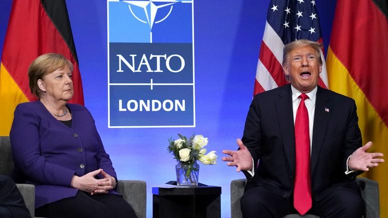 Bild: на фоне Трампа Меркель выглядела статисткой, но все остались довольны