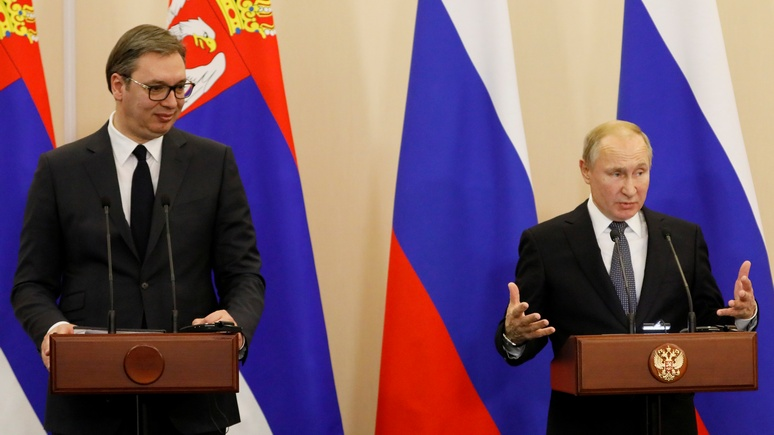 Balkan Insight: шпионский скандал не омрачил встречу Путина и Вучича в Сочи