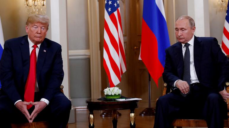 Американский эксперт: благодаря Трампу Путин получает желаемое, и пальцем не пошевелив