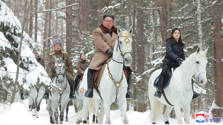 Ким Чен Ын на белом коне заставил Daily Mail задуматься о политических переменах в КНДР
