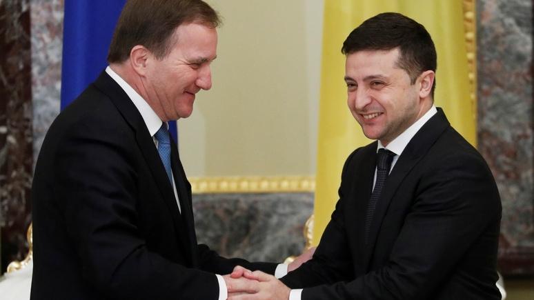 Премьер-министр Швеции: статус Донбасса Украина должна определить сама, но многое зависит и от России