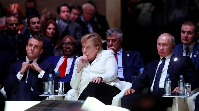 Die Welt: на саммите «нормандской четвёрки» Париж и Берлин попробуют устранить «главное препятствие» на пути к сближению с Москвой