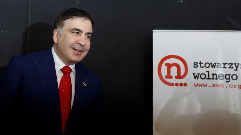 СТРАНА: Саакашвили призвал украинских политиков молиться за успех Зеленского в Париже
