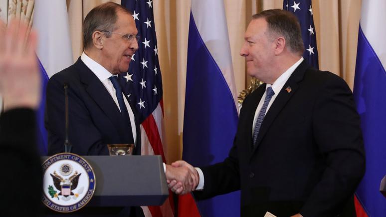 Washington Post: Помпео и Лавров высказались за улучшение российско-американских отношений