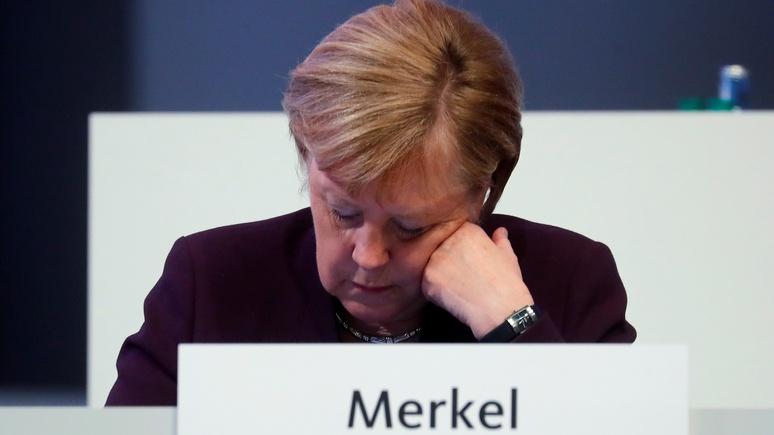 Немецкий журналист:  из-за «рождественского сна» Меркель Германия теряет свой авторитет