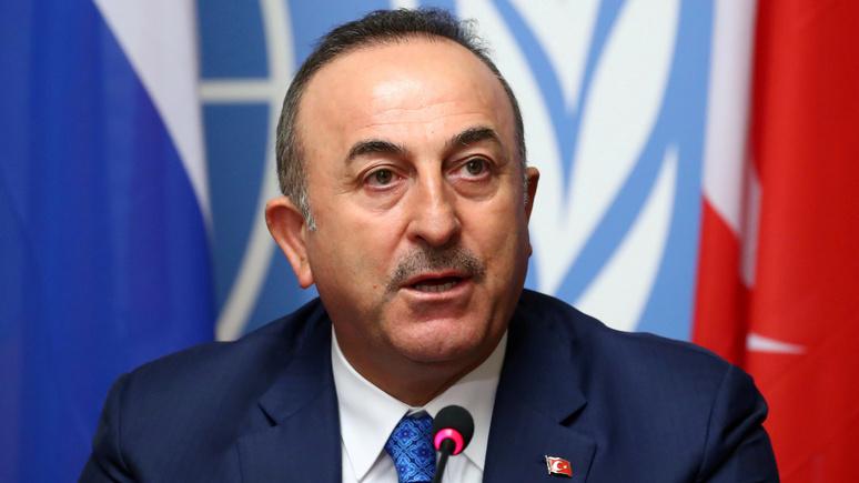 HDN: глава МИД Турции назвал американские санкции неуважением к решениям Анкары