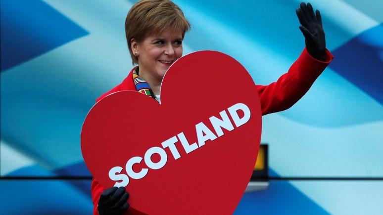 Scottish Sun: после победы в Великобритании консерваторов Шотландия вновь заявила о желании отделиться