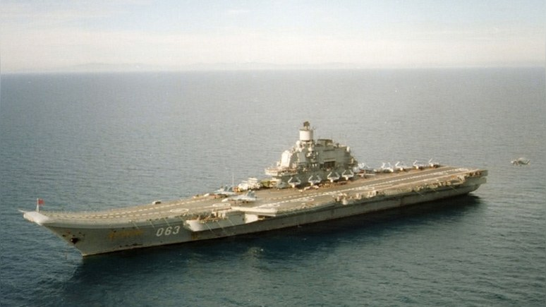 Forbes: пожар на «Адмирале Кузнецове» — тревожный сигнал американским судостроителям