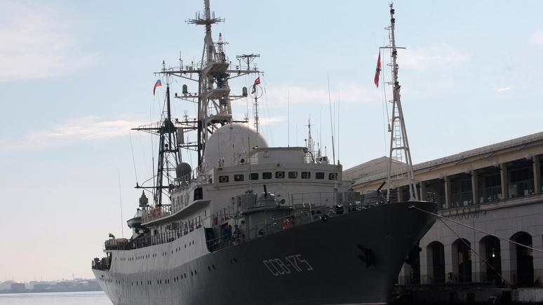 Washington Times: Береговая охрана США обвинила российское судно в небезопасных манёврах
