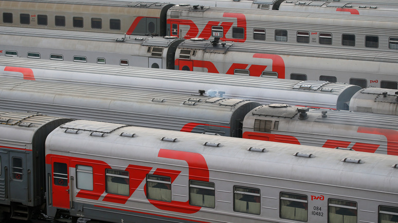 Yle: финский журналист объяснил, почему российские поезда не опаздывают