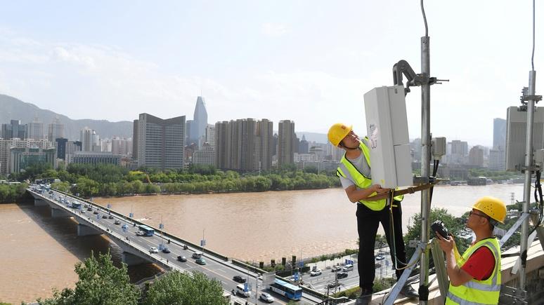 Ведущий CNBC: Китай обходит нас с сетями 5G, как когда-то СССР в космосе