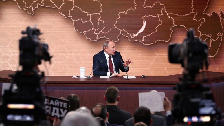 Washington Post: слова Путина об изменении Конституции спровоцировали волну спекуляций