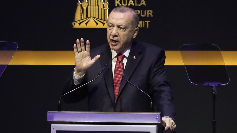 Yeni Safak: Эрдоган пообещал «ответить» на американские санкции против «Турецкого потока»