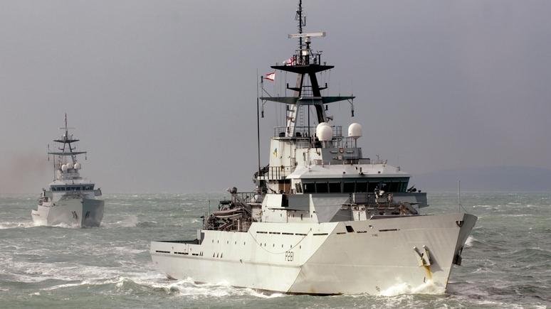 Daily Express: из-за российского «Перекопа» британские моряки встретили Рождество в море