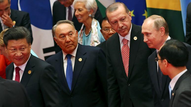 Прогноз от Times: Китай, Россия и Турция «проедутся бульдозером» по международному порядку