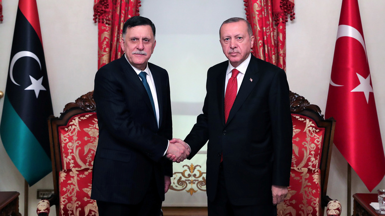 L'Express: Эрдоган введёт войска в Ливию, если официальный Триполи попросит