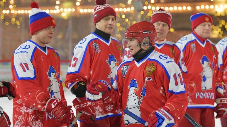 N-TV: хоккеист Путин по-прежнему в форме — не выспался, но шайб забил больше всех