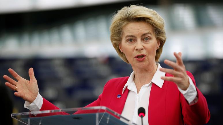 Der Spiegel: фон дер Ляйен осудила санкции США против компаний, строящих «Северный поток — 2»