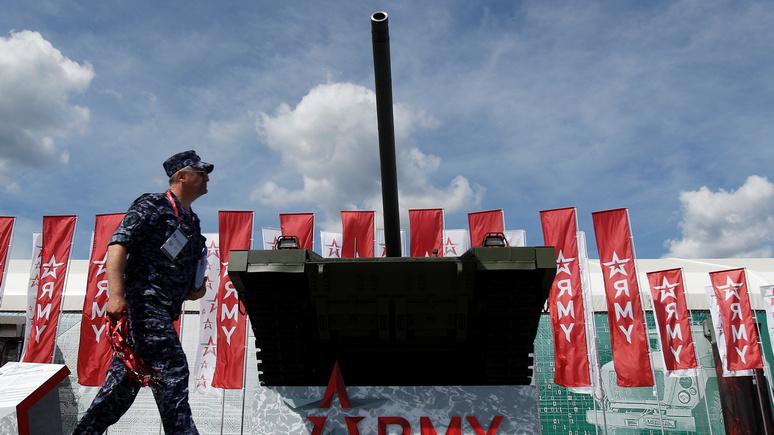 Daily Mail: «Армата» не только самый совершенный танк, но и первый оборудованный туалетом