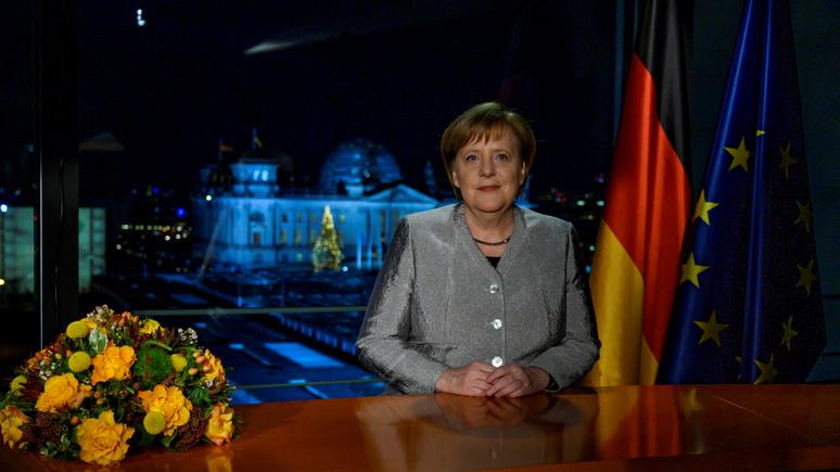 FAZ: новогодние обращения Меркель утратили былой «непоколебимый оптимизм»