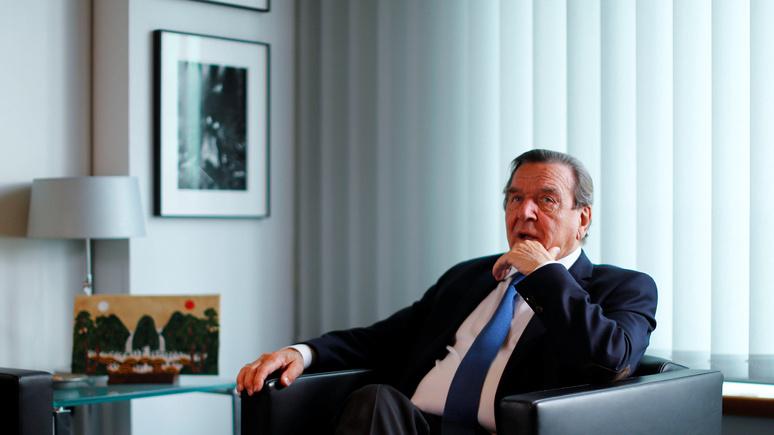 Welt: «мы не 51-й штат» — Шрёдер призвал Берлин не мириться с санкциями США против «Северного потока — 2»